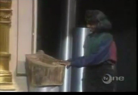 1987 Amateur Night at the Apollo 13 -year-old Lauryn Hill touches Tree of Hope before singing