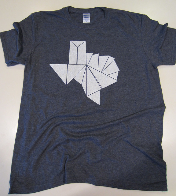 Origami Texas - Navy Blue Heather Blend from Tumbleweed Texstyles