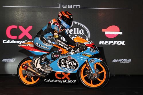 Presentación Repsol Moto3 2012