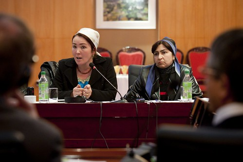 Tajik Women discuss their roles in country's food security on the eve of International Women's Day 1