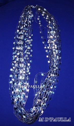 colar azulok by MDPAULLA