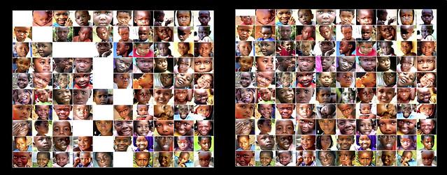 100 Children 1 in 7 vs 1 in 185