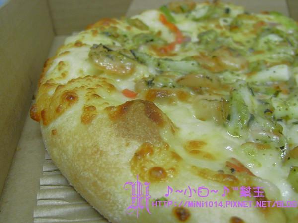 Pizza Hut新品-輕Q餅皮 (海鮮彩蔬)