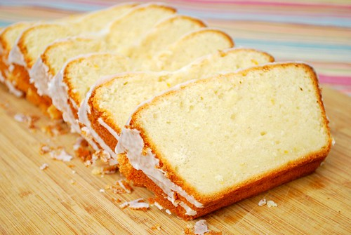 Pound Cake Loaf Recipe Sour Cream: Sour Cream & Meyer Lemon Pound Cake