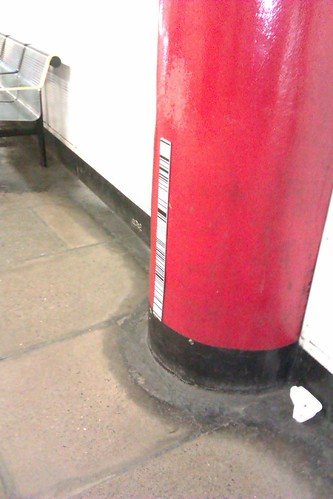 Bar Codes on the Tube Platform