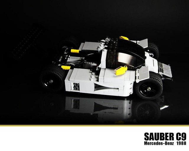 Lego mercedes benz sauber c9 flickr photo sharing for Lego mercedes benz
