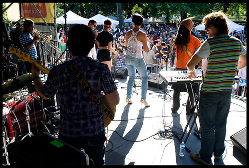 Interactivo at Congo Square Music Festival. by Ryan Hodgson-Rigsbee