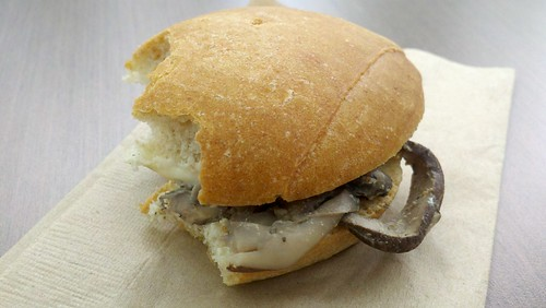 Mushroom and Brie Sandwich