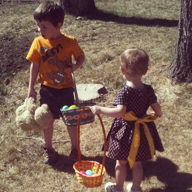 March 31. Easter egg hunt.