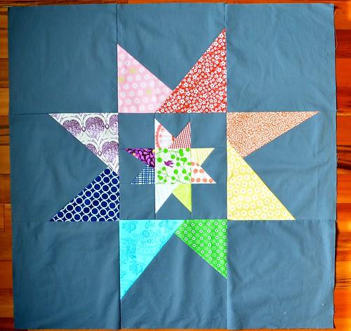 Wonky Star - finished