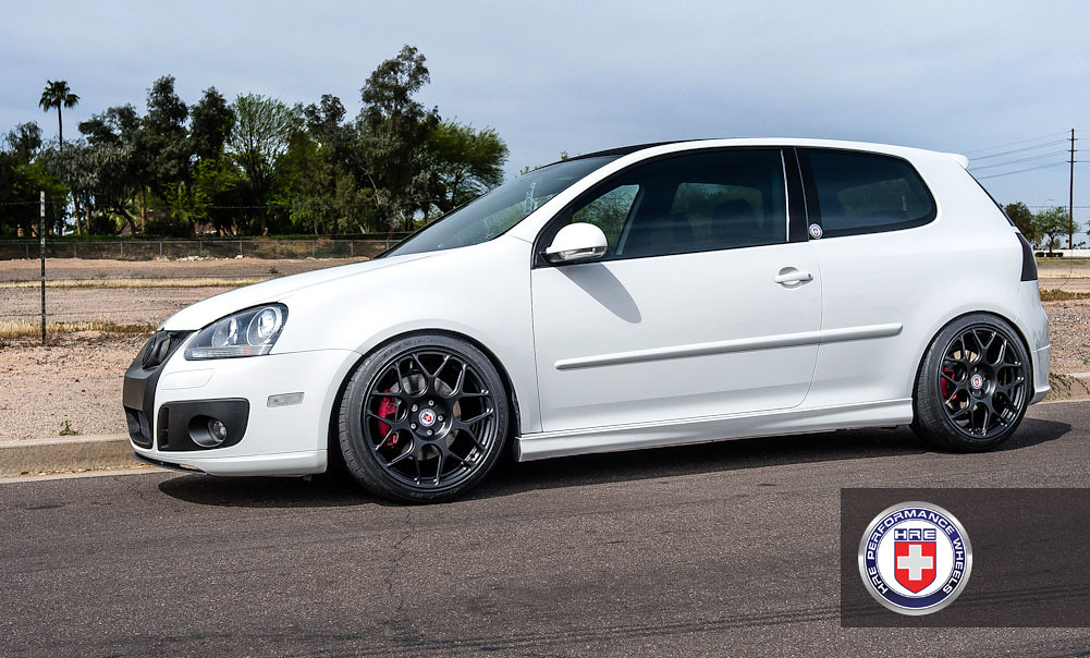 Vw Golf Gti Mk5 White P40s 18 Quot Satin Black A Photo On