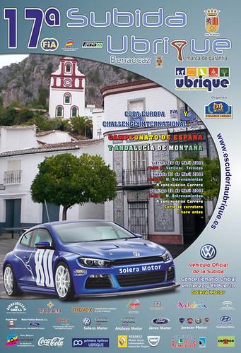 XVII Subida Internacional Ubrique - Marca de Garantía 2012