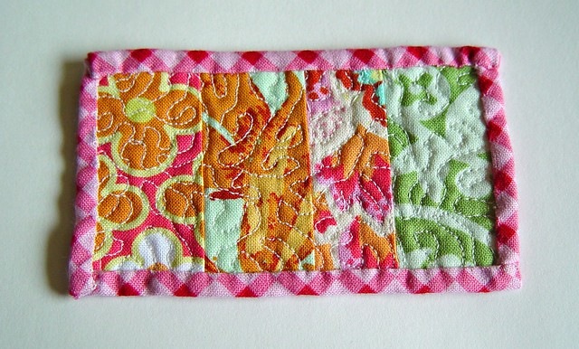 tiny quilt detail