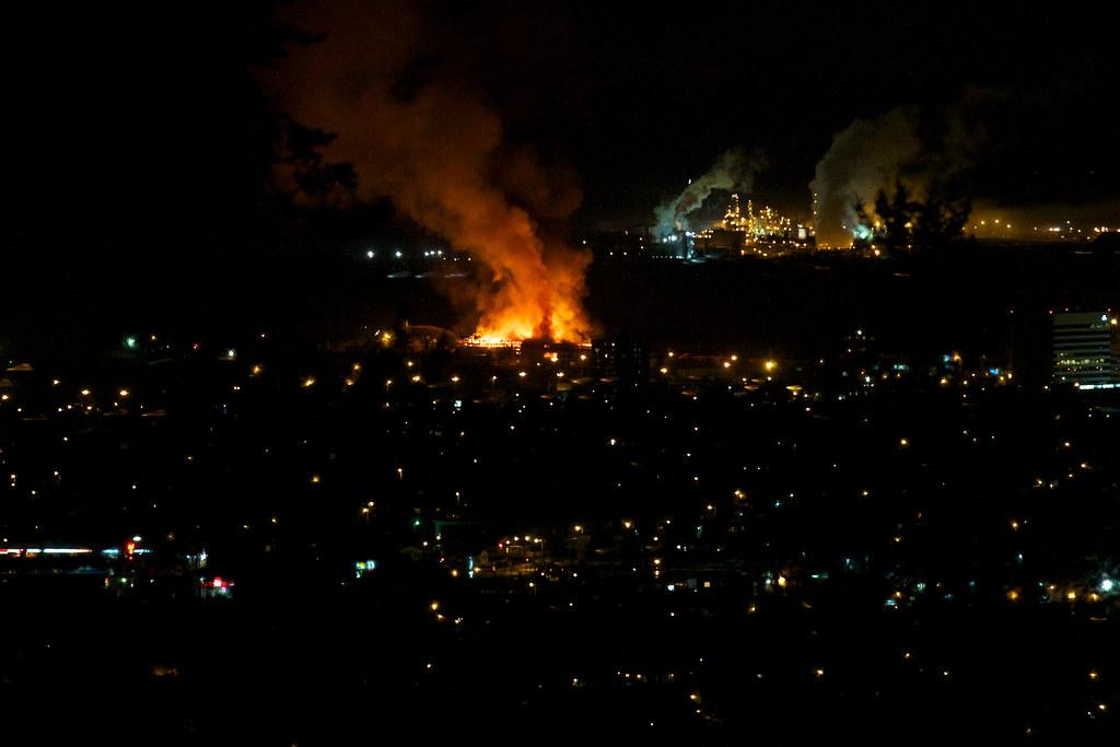 Lakeland Mills Fire