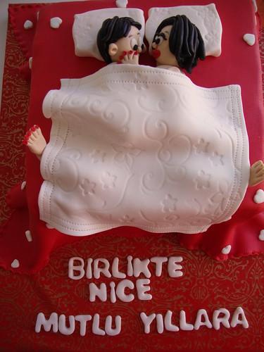 Yatak Pasta , Bed Cake