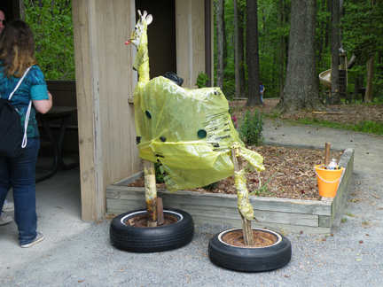 Best in show for Trash to Art at Caledon Natural Area