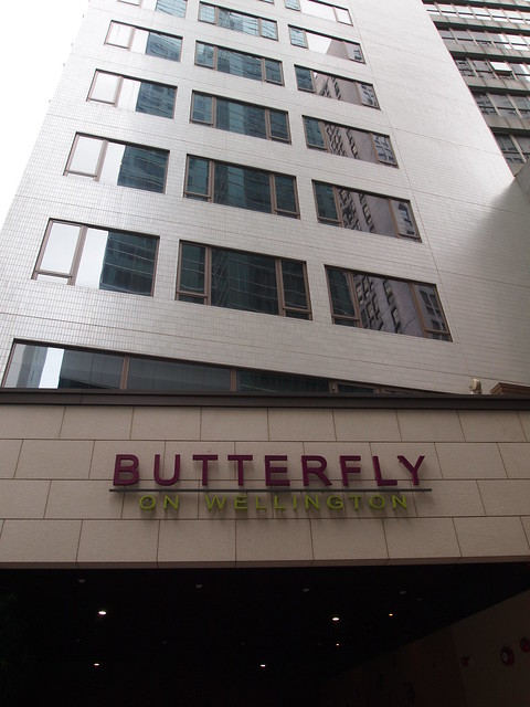 Butterfly on Wellington @中環