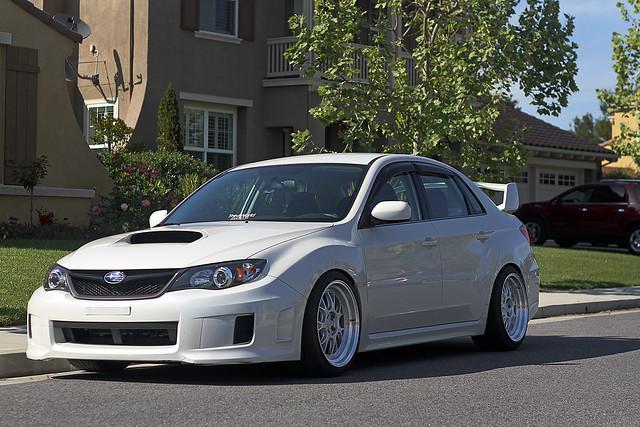 Stanced 2011 Wrx Sedan 18x10 25 255 35 Www Facebook Com