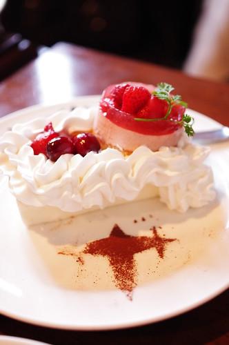 三つ星専用ケーキ
