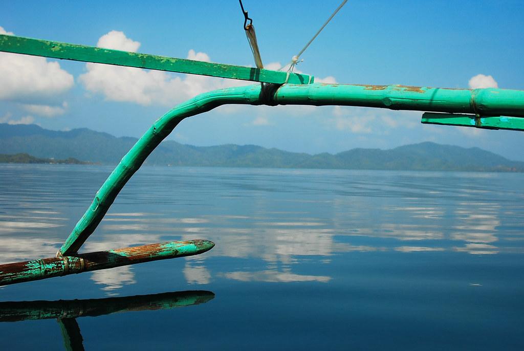 Port Barton, San Vicente, Palawan, Bangka, Outrigger, Boat, Sea