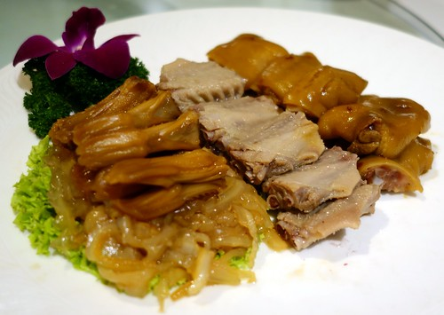 "Combination of Braised ""Lou Shui"" Platter. Man Fu Yuan. A Taste of Nostalgia - March 2014 Menu"