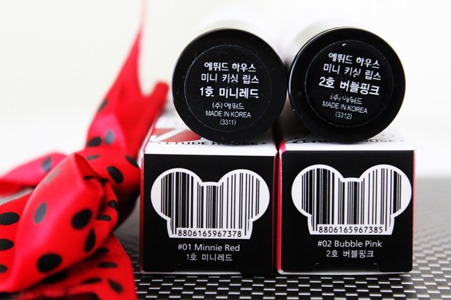 Review Etude House Minnie Kissing Lips