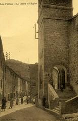 Les Pilles : Quartier de l'église