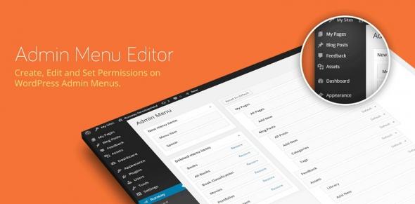 Admin Menu Editor Pro v2.5.1