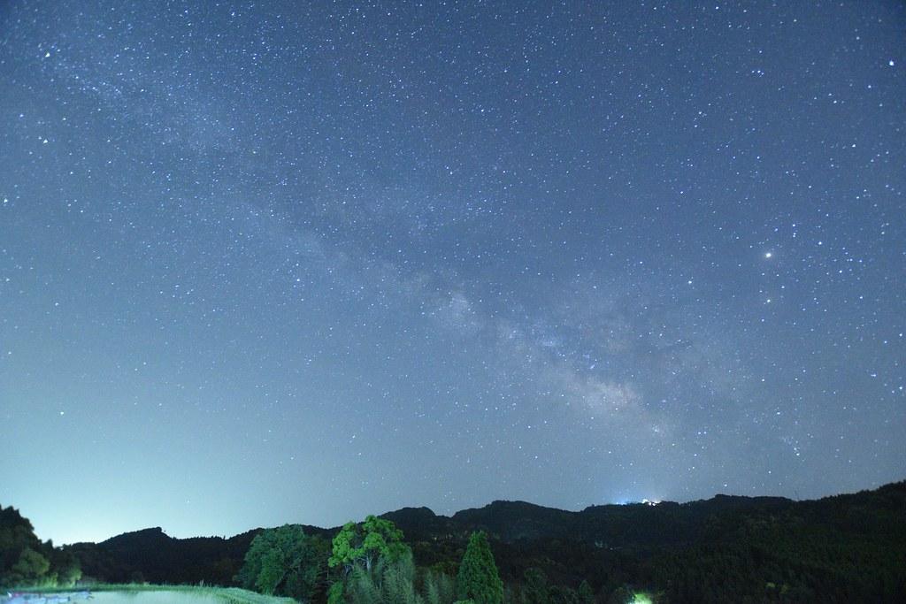 ISO6400で撮影した天の川