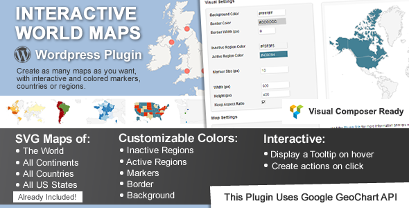 Interactive World Maps v1.9.9