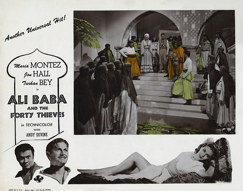 Ali Baba and the Forty Thieves - lobbycard 2