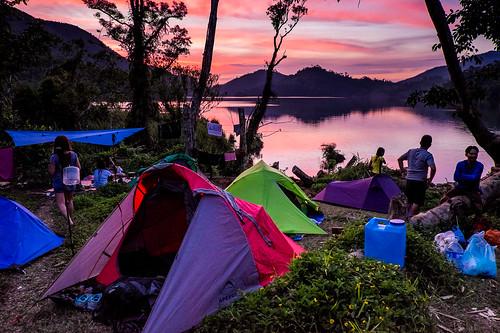 city travel camping lake green explore danao visayas ormoc