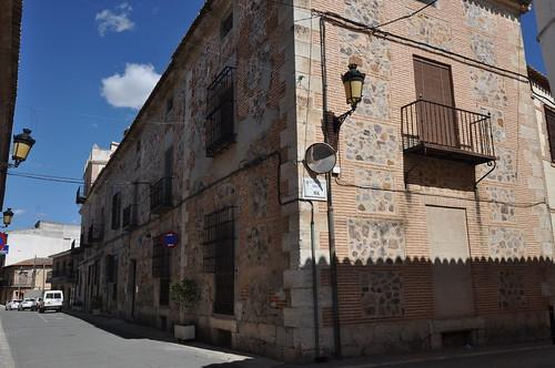 Corral de Almaguer (Toledo). Casa Maldonado y Medrano