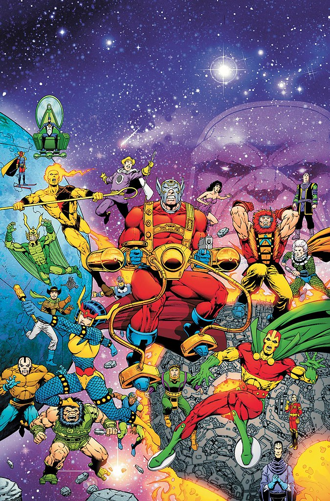 Image result for new genesis new gods
