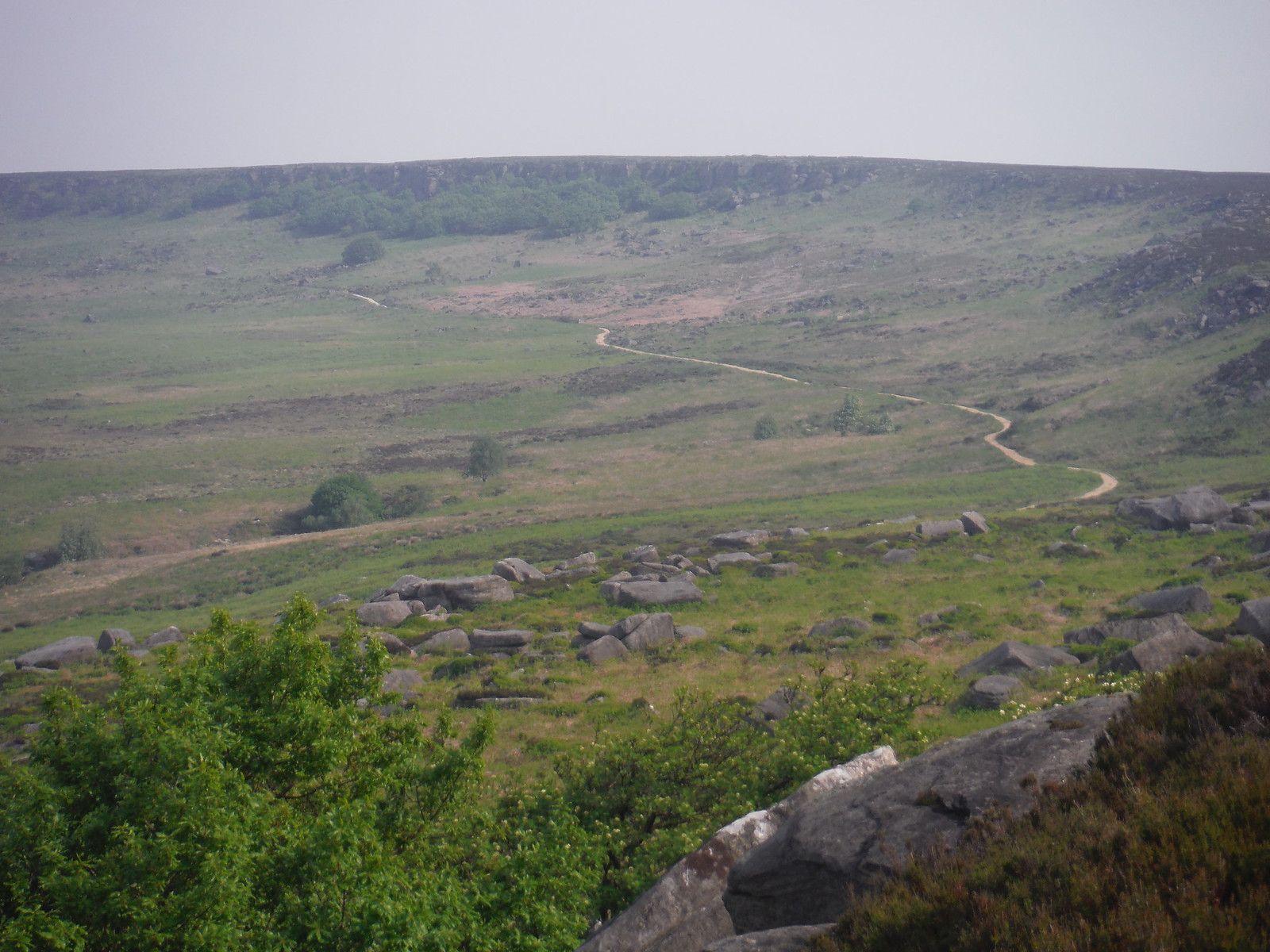 Upper Burbage Brook Valley SWC Walk 266 - Sheffield to Bamford (via Burbage Rocks and Stanage Edge) or to Moscar Lodge