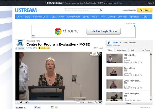 CPE UStream Channel