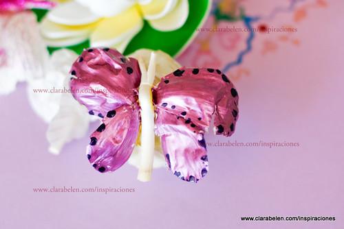 Manualidades con reciclaje: hacer mariposas fáciles con piel de ajos