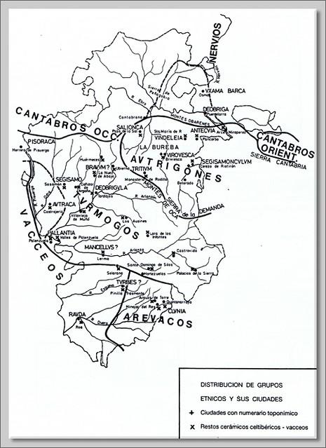 Distribución de grupos etnicos y sus ciudades 2