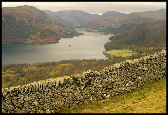 Ullswater from Brown hills.