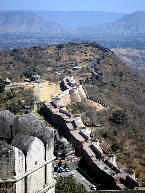 View From Kumbalgarh Fort