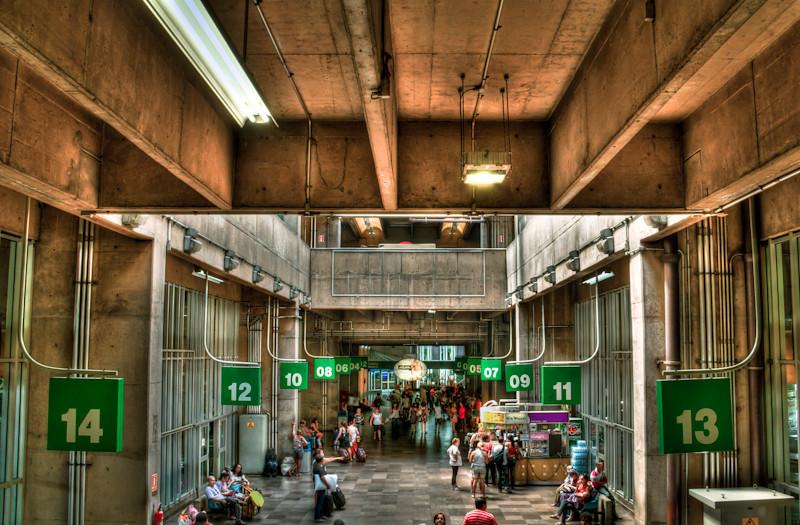Tietê in Movement | Tietê Bus Terminal, São Paulo, Brazil | Urban Photography, Fotografía Urbana, Fotografia Urbana, HDR Photography