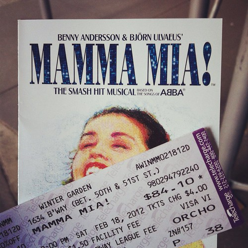 we have mamma mia tickets!!! :)