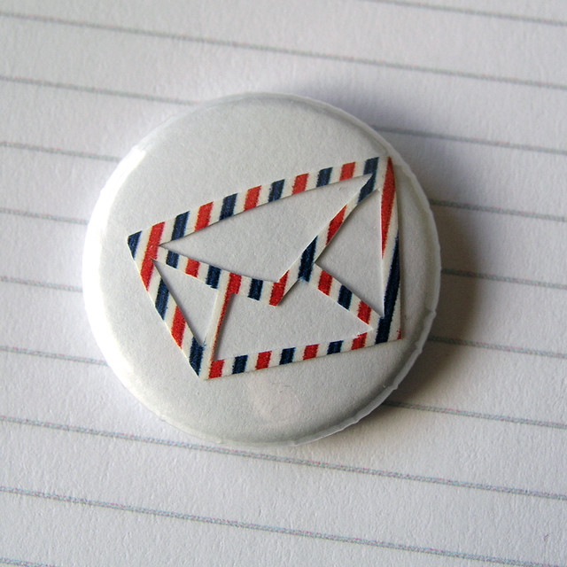 airmail buttons