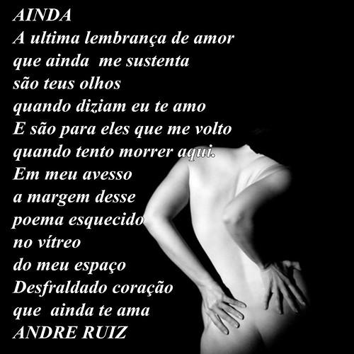 AINDA by amigos do poeta