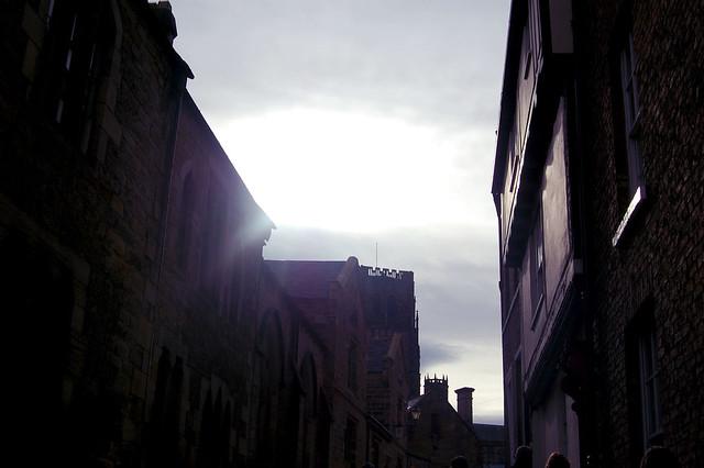sun in the street