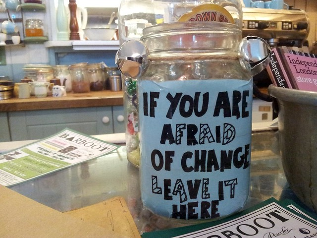 If you are afraid of change leave it here