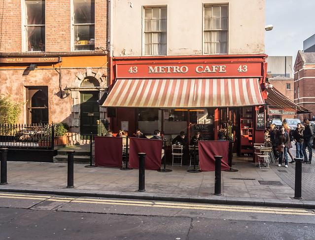 Metro Cafe Dublin Breakfast Menu