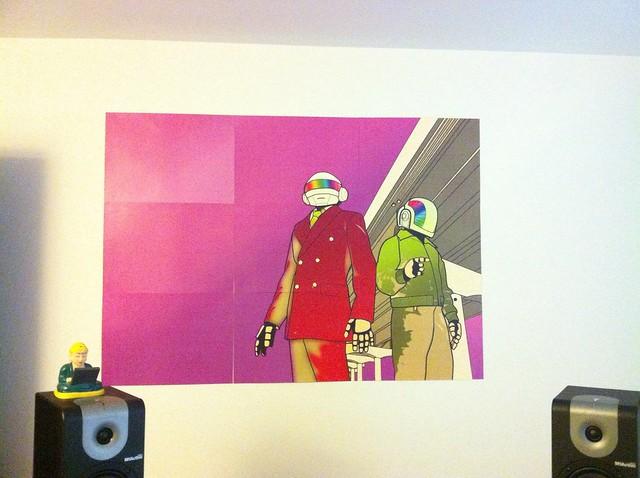 Daft punk mural flickr photo sharing for Daft punk mural
