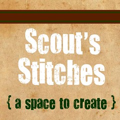 Scout's Stitches Button