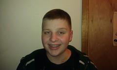Morgan's Pre-Chemo Haircut